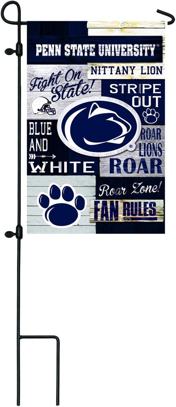 Team Sports America NCAA Fan Rules Linen Flags