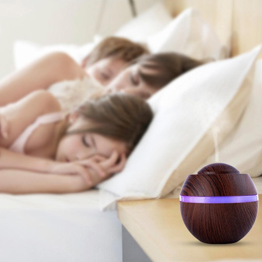 Azul STRIR 500ml Humidificador Aromaterapia Ultras/ónico 7-Color LED,Seguro y Elegante purificar el Aire y mejorara el Aire seco Difusor de Aceites Esenciales