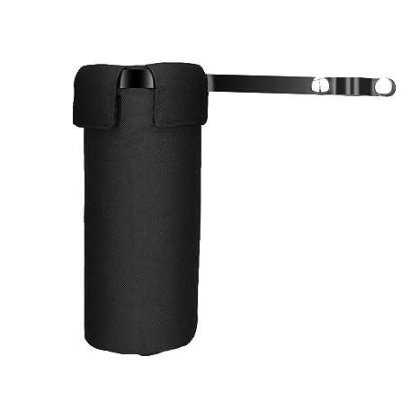AIEX Funda para Baquetas Negro Impermeable Drumstick Holder Estuche de Baquetas Bolso de Baquetas con Abrazadera de Montaje