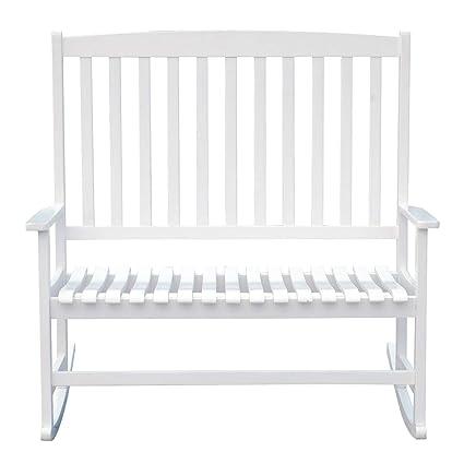 Astounding Amazon Com Fdinspiration 45 25 W White Paint Wood 2 Bralicious Painted Fabric Chair Ideas Braliciousco