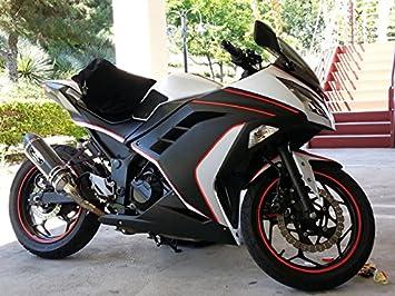 Moto Onfire Matte Black Fairings Kit Fit for Kawasaki Ninja 300 EX300R ZX300R 2013 2014 2015 2016