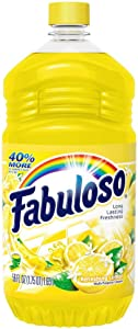 Fabuloso All Purpose Cleaner, Refreshing Lemon, 56 Ounce