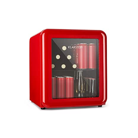 Klarstein Poplife Nevera de Bebidas - Mini Bar, Nevera Retro, 0-10 ...