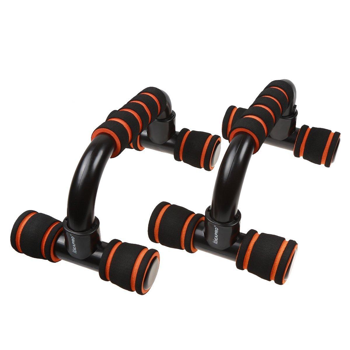 para ejercicios Anti Slip entrenamiento Equipo de entrenamiento para hombres y mujeres IDEAPRO 1/par de barras para flexiones con empu/ñaduras de esponja gimnasio deporte