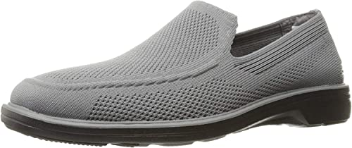 Macadán Palmadita condensador  Amazon.com | Skechers Men's Walson Morado Slip-on M Shoes | Loafers &  Slip-Ons