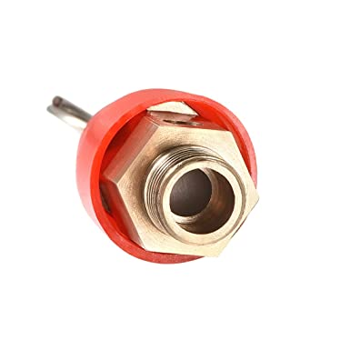 Red Hat 1Pack G1//4 Male uxcell Safety Valve Air Compressor Pressure Relief Valve 115PSI Set Pressure