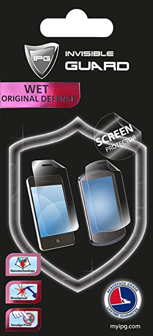 IPG for ePadlink Epad E-Signature Capt Pad Sw W2K//XP Screen Protector 3 Units Free Replacement Warranty Clear Bubble Free Screen Protection
