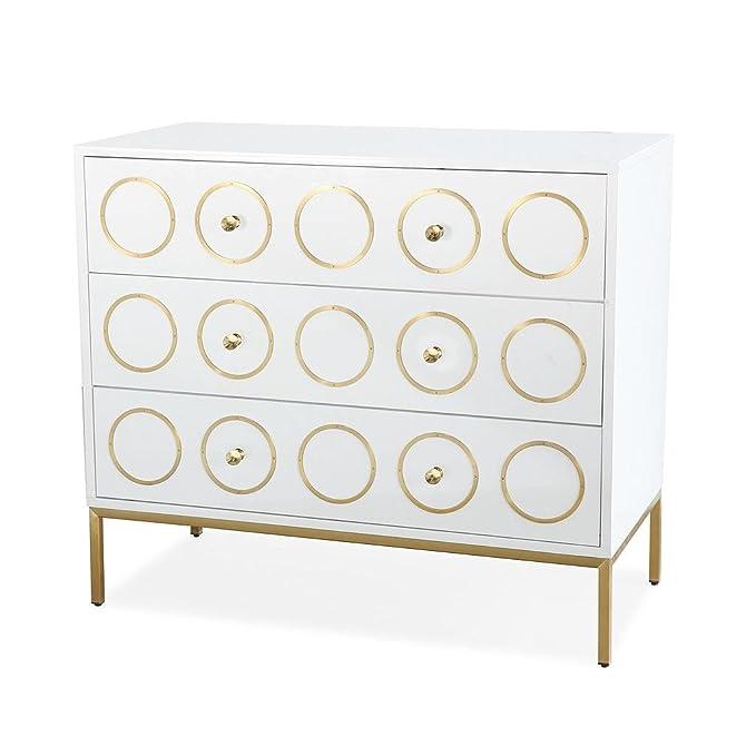 Amazon.com: TOV Muebles La colección Ella moderna & Acero ...