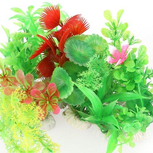 VORCOOL-10-pcs-Artificial-Aquarium-Fish-Tank-Water-Plant-Plastic-Decoration-Ornament-Random-Color