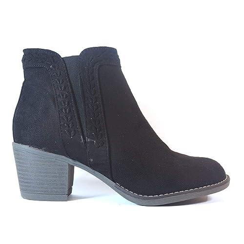 Botines BENINI A8128 Negro - Color - Negro, Talla - 41: Amazon.es: Zapatos y complementos