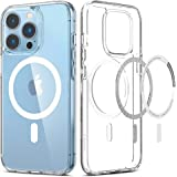Spigen Ultra Hybrid Mag [Anti-Yellowing Technology] Compatible with MagSafe Designed for iPhone 13 Pro Case (2021) - White