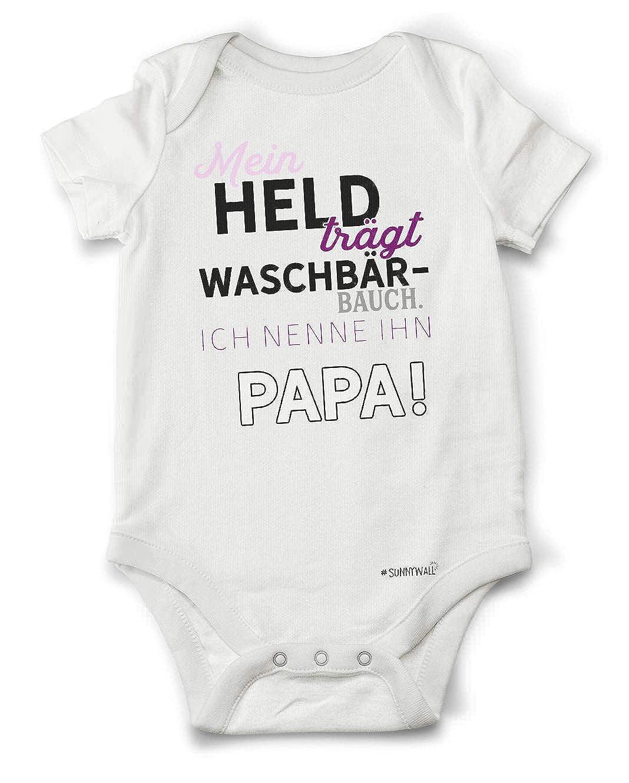 Sunnywall Papa willst du Meine Mama heiraten? Baby Body Strampler Bodysuite 100/% Bio Baumwolle Unisex