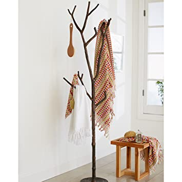 Amazon.com: Perchero rama de árbol – 18 W x 11,5 D x 72 h ...