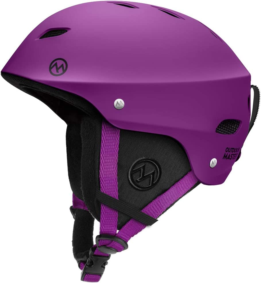 Women /& Youth with ASTM Certified Safety 9 Options for Men OutdoorMaster KELVIN Ski Helmet