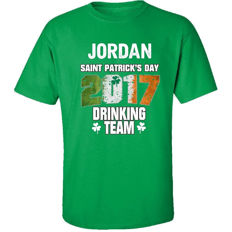 Jordan Irish St Patricks Day 2017 Drinking Team - Adult Shirt