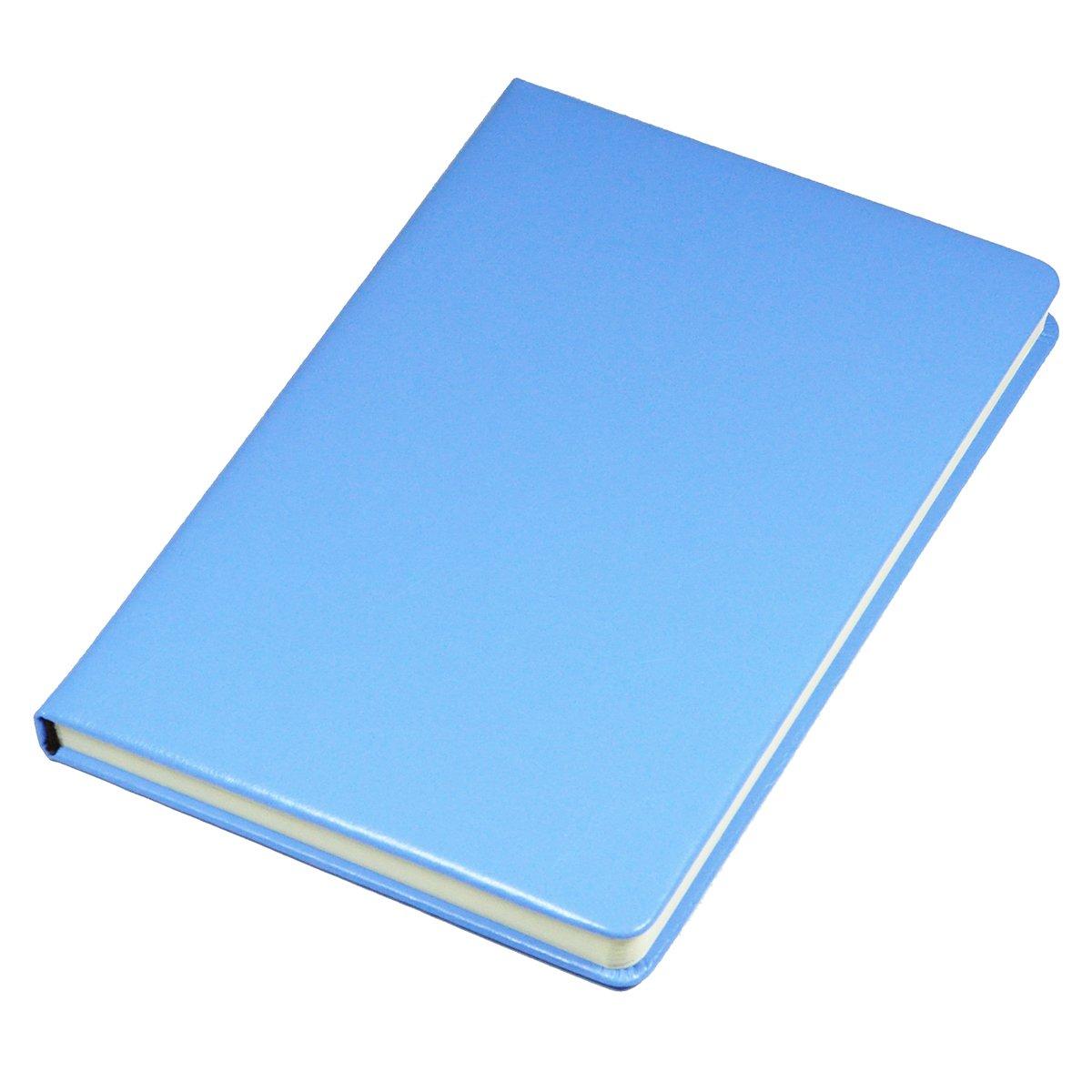 Littfun Leather Notebook A5 Journal 11 Color Optional (Blue)
