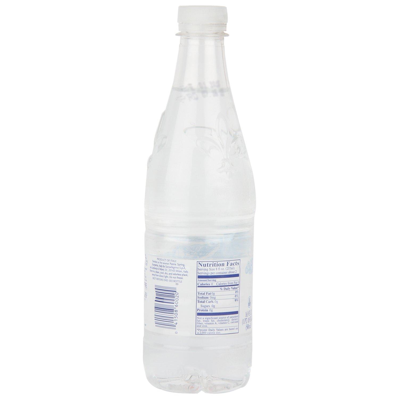 Amazon com : Aqua Panna Natural Spring Water, Plastic Bottle, 500ml