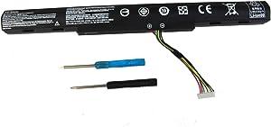 AS16A5K AS16A8K Replacement Battery Compatible with Acer Aspire E15 E5-475 E5-475G E5-523 E5-553 E5-575 E5-575G E5-575T E5-575TG E5-774 E5-774G E5-475-31A7 E5-575-59QB E14 E5-475-587F