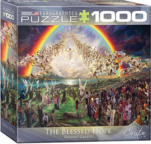 EuroGraphics The Blessed Hope Puzzle (Small Box) (1000-Piece)
