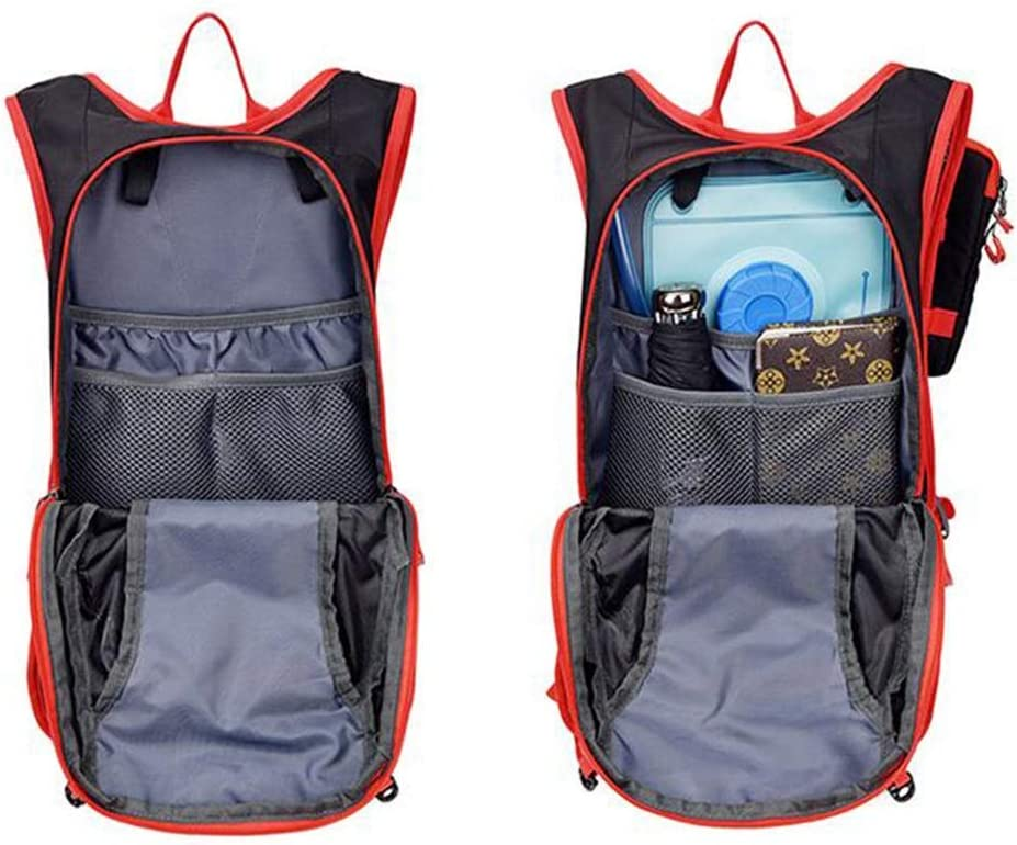 Multi-Color Optional Latest Models Outdoor Men and Women Travel Breathable Waterproof Backpack Color : Red Haoyushangmao Backpack
