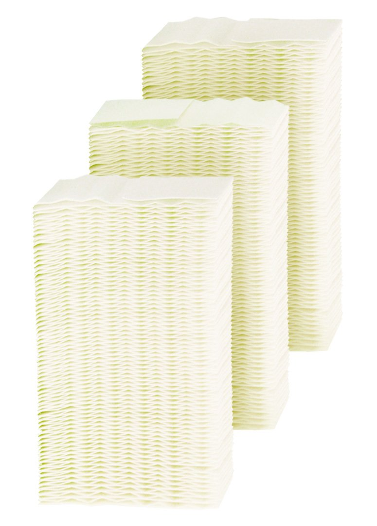 1 Gray//Black 3-Pack AIRCARE HDC311 Replacement Wicking Humidifier Filter