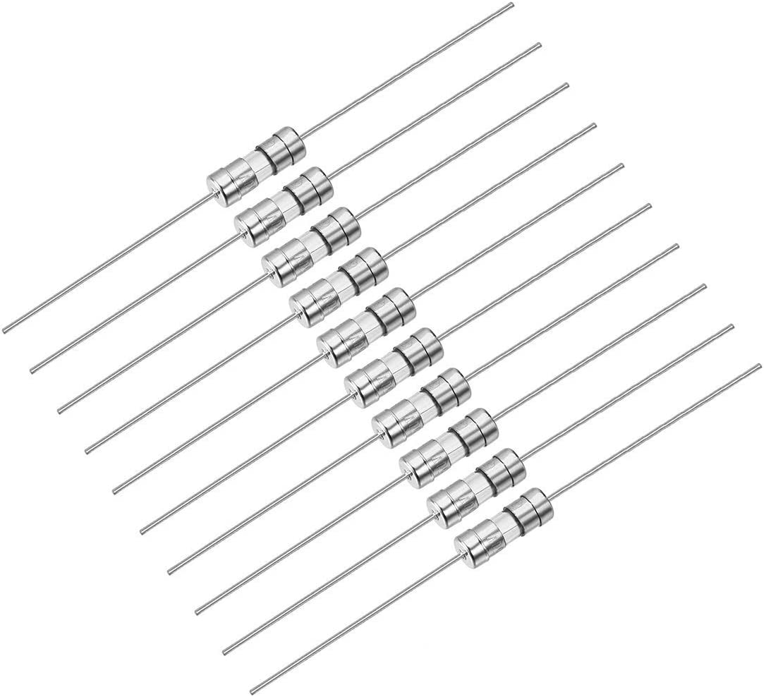 Fast-acting fuse Axial lead glass fuses 3.6mm X 10mm 250V F5A 200Pcs