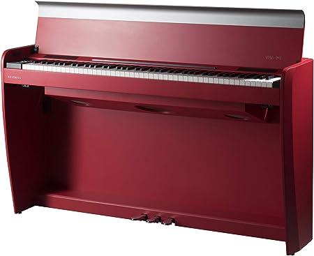 Teclado Dexibell Vivo H7 Rojo Mate: Amazon.es: Instrumentos ...