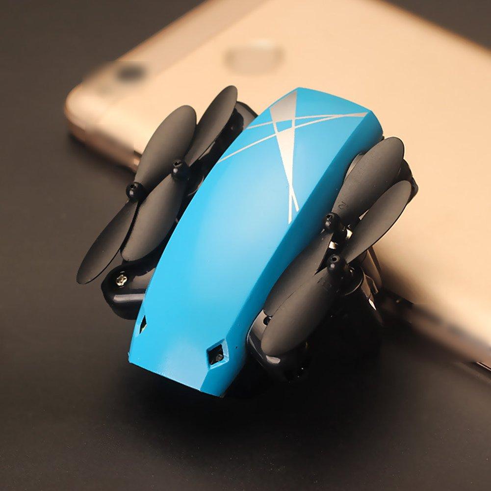 servicio honesto MINI Drone Wifi En Tiempo Real De Transmisión Transmisión Transmisión De Presión Fijo Aéreo Plegable Abejón Control Remoto Avión Carga USB,Blue  ventas directas de fábrica