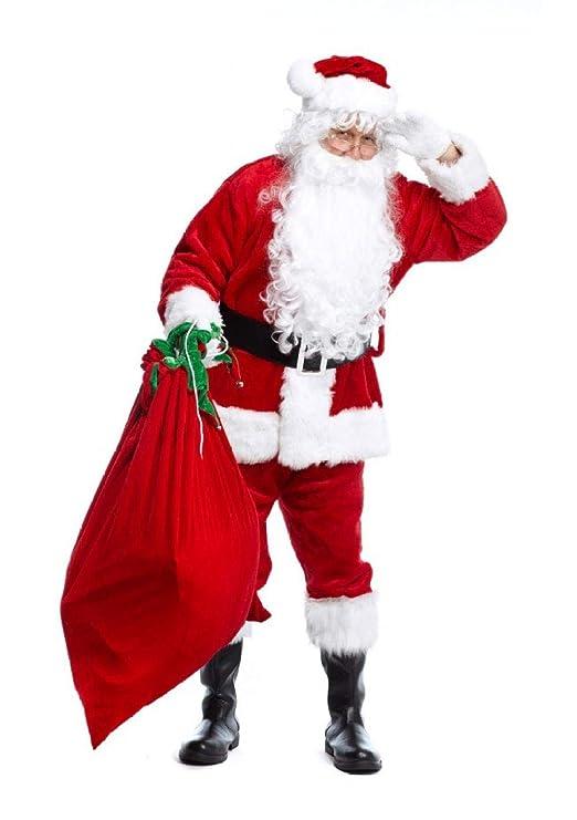 Sxjszhkjg Traje de Duende navideño, Traje de Terciopelo ...