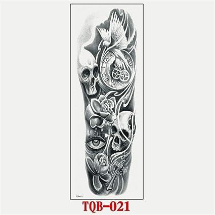 Brazo completo pegatinas de tatuaje accesorios de brazo completo a ...