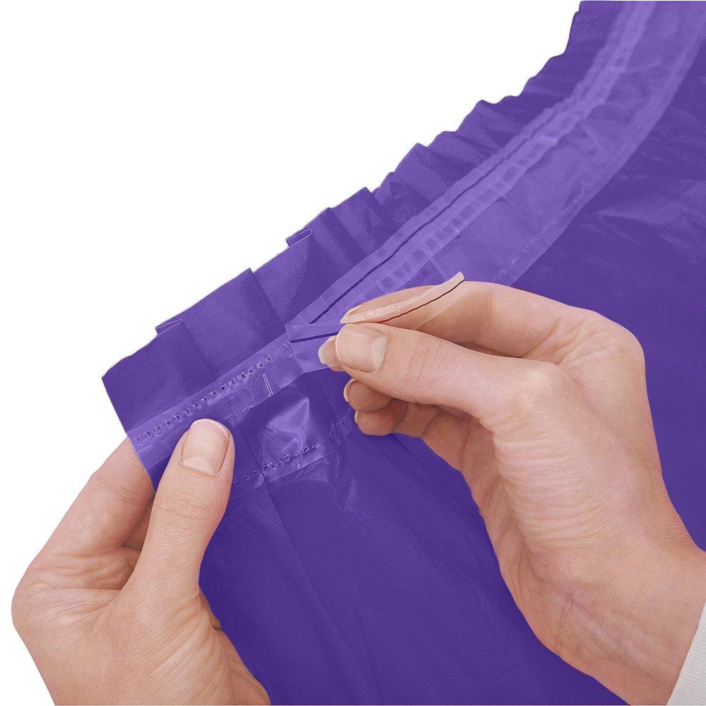 Dark Purple Plastic Table Skirt, 29'' x 14ft.
