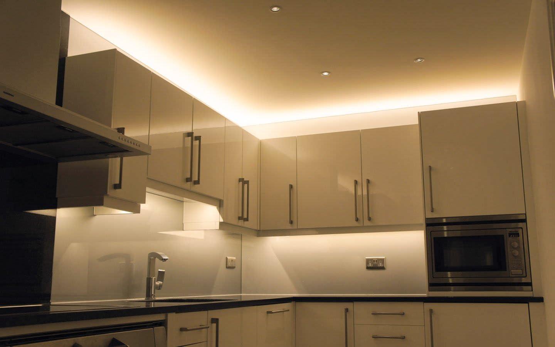 Minger LED Streifen,IP19 wasserfest,19 LEDs,LED Leisten,LED Lichtband, LED  Lichtleisten, LED Band,19 SMD 19m/19.19 ft 190 Kelvin,Warmweiß
