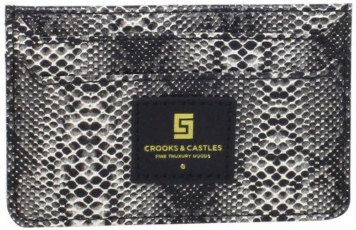 Crooks Castles Mens Slim Wallet Reptillo product image