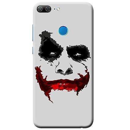 wholesale dealer 029b9 62bdf Tip 'n' Top Designer Joker Printed Mobile Back Cover for Honor 9 Lite (Evil  Joker)