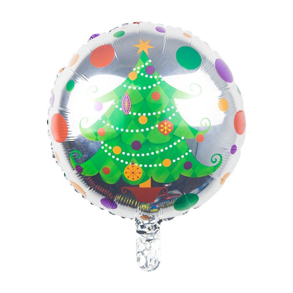 18 Inch árbol de Navidad globos, helio globo hinchable ...