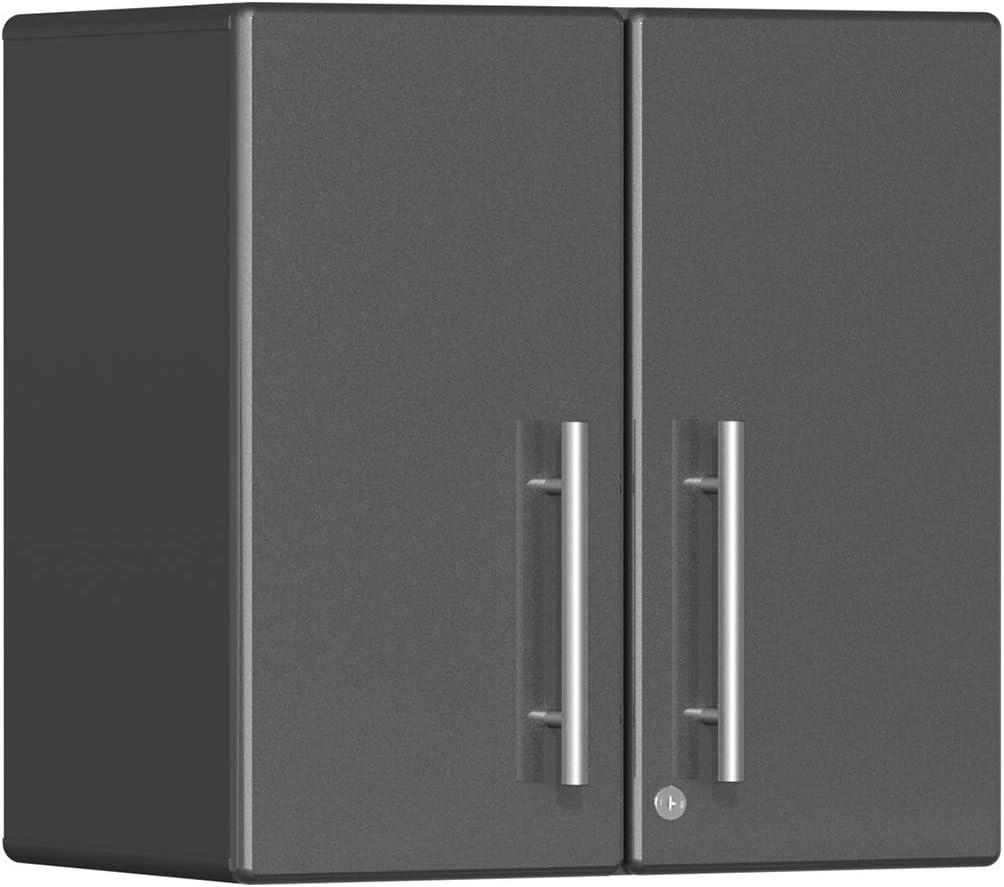Ulti-MATE UG21009G 2-Door Wall Garage Cabinet in Graphite Grey Metallic