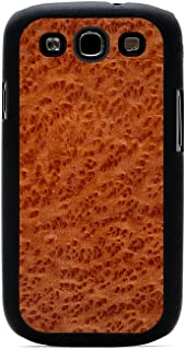 product image for CARVED Matte Black Wood Case for Galaxy S3 - Redwood Burl (S3-BC1B)