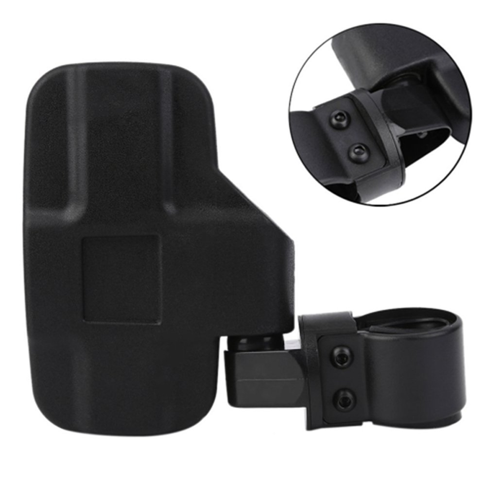 Carejoy Adjustable 1Pair UTV Side View Mirrors - 1.75 or 2inch Roll Bar Cage