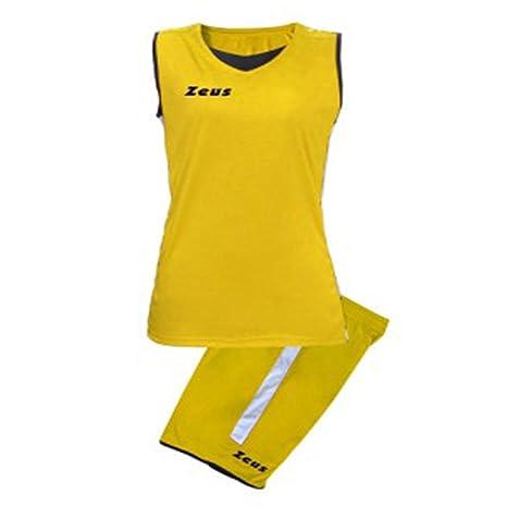 ZEUS KIT FLORA COMPLETO COMPLETINO BASKET PALLACANESTRO  Amazon.it  Sport e  tempo libero c2628745429b