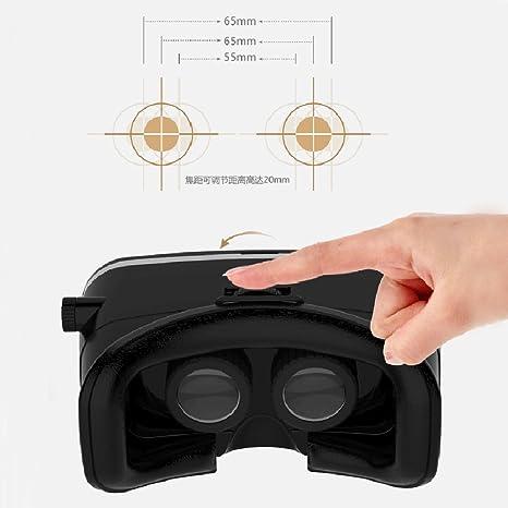 AFUNTA Objeto Distancia Ajustable Realidad Virtual VR Gafas, 3D ...