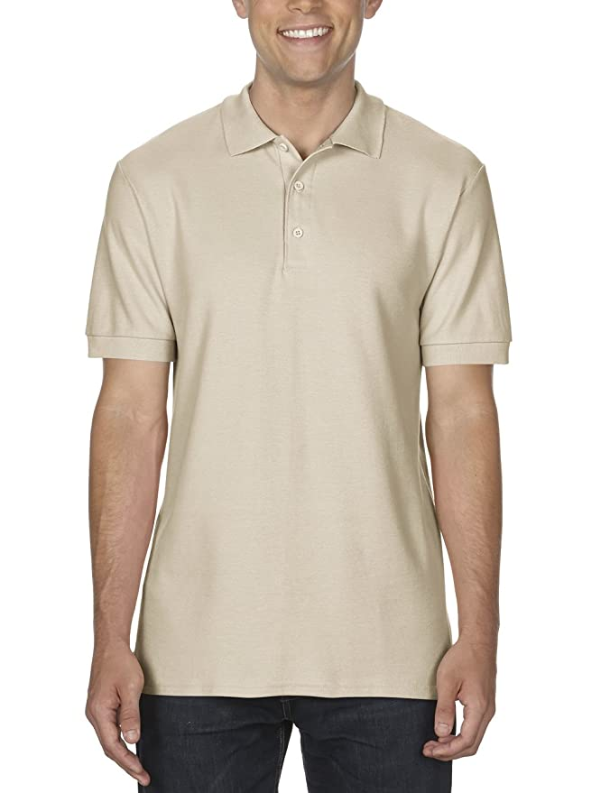 GILDAN Herren Poloshirt Adult Premium Cotton Double Piqué Polo/85800,  Einfarbig: Amazon.de: Bekleidung