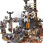 LEGO-NINJAGO-Le-segrete-dello-Stregone-Teschio-2-in-1–Set-da-costruzione-e-gioco-da-tavolo-con-8-minifigure-71722