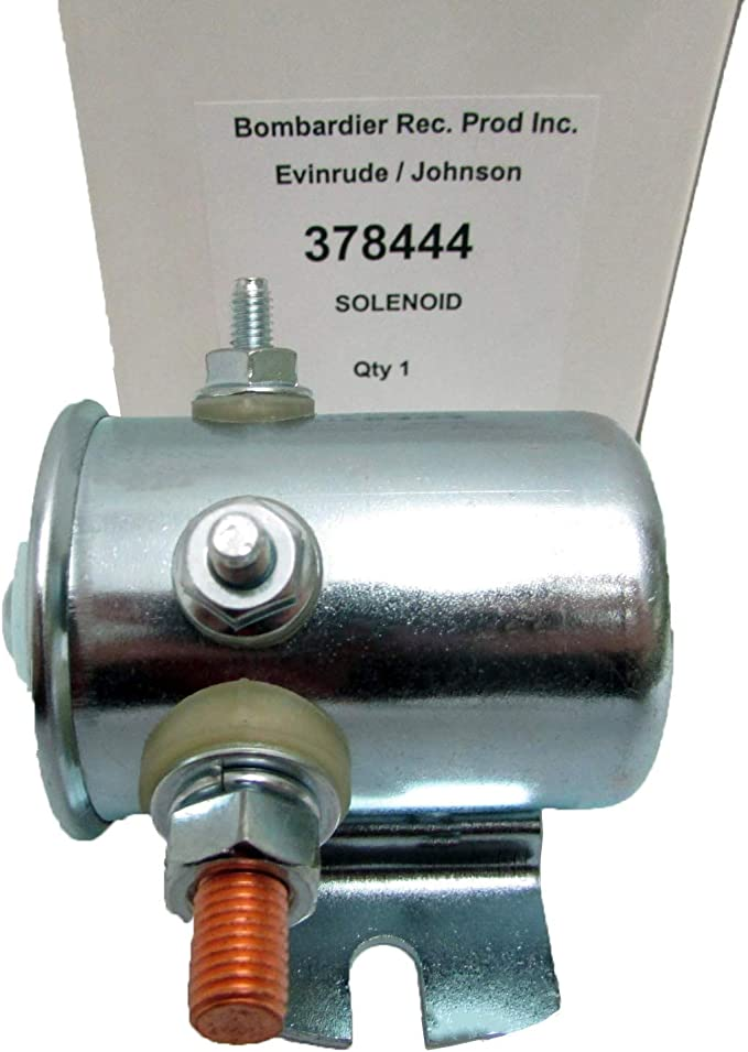 NEW OMC Johnson Evinrude 378444 Solenoid OEM Factory Outboard Marine