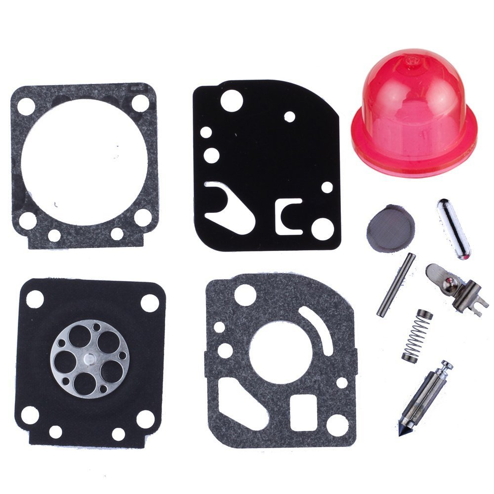 HIPA RB-115 Carburetor Repair Kits for Poulan Craftman Weedeater FL20C FL25C FX26S FX26SC P3500 SST25C TE475 TE475Y XT260 XT700 Trimmer