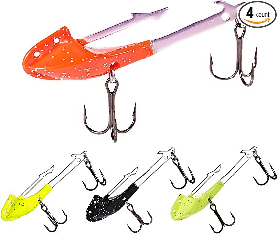6//0 Kayak fishing for cod Jig Head Mould x 4 lures VMC Jig Hooks 5150 size 5//0