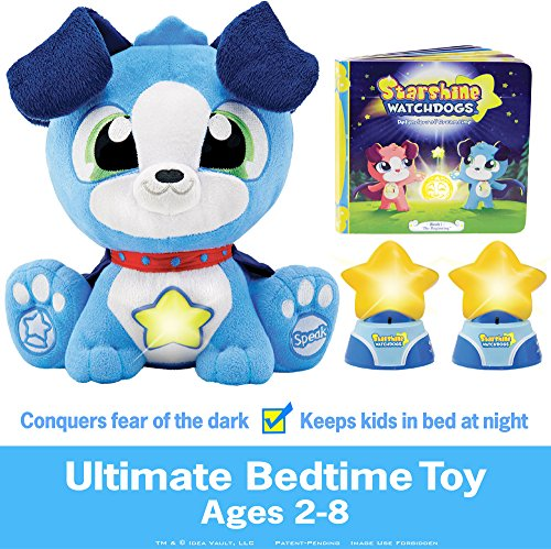 Stuffed Light Animal Night (Starshine Watchdogs Orion Talking Plush Bedtime Toy Remote Control Night Lights, Comforting Phrases Calming Storybook. Plus Free Watchdogs Coloring Pages! A Toy Kids Truly Need)