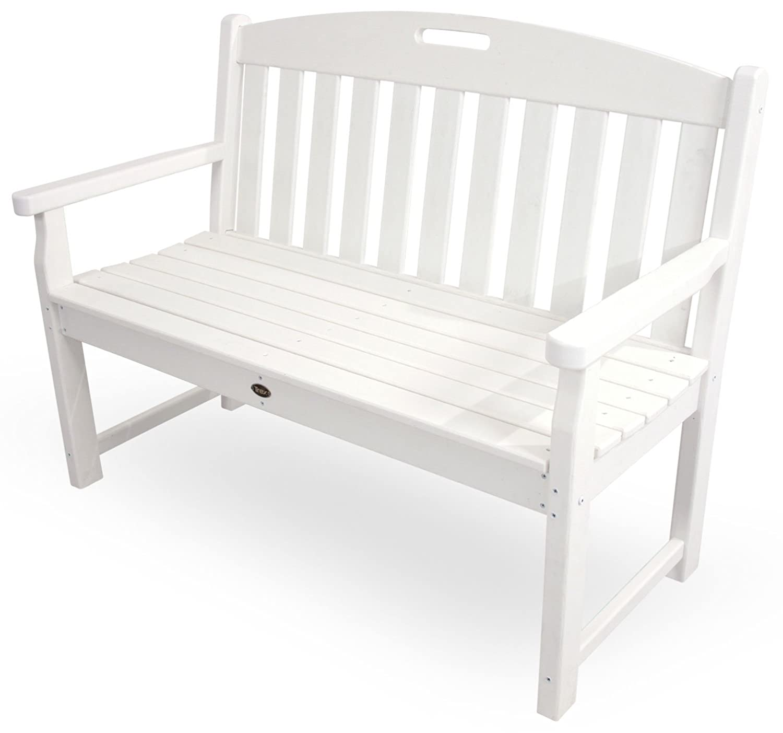 Amazon Com Trex Outdoor Furniture Txb48cw 48 Inch Yacht Club Bench