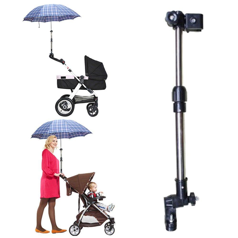 Lergo Stroller Pram Umbrella Holder Wheelchair Umbrella Stretch Stand- To Add Baby Safety