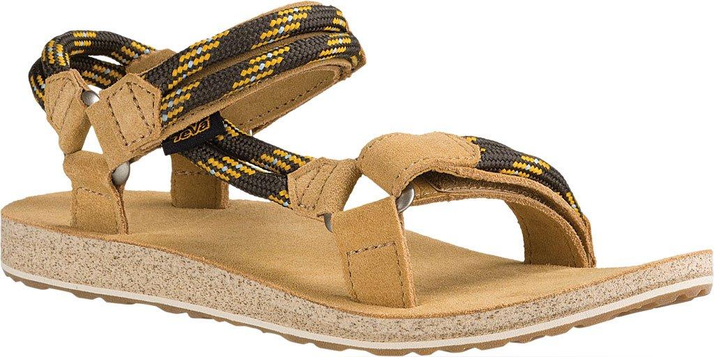 Teva Original Universal Rope Women Open-Toe Canvas Sport Sandal B01IPUEPS4 5 B(M) US|Black Olive