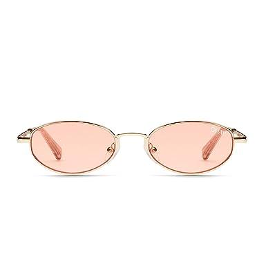 f7018f6e25e13 Amazon.com  Quay Australia SHOWDOWN Women s Sunglasses Small Oval ...